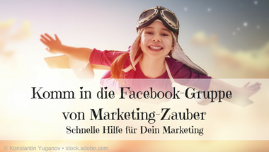 Marketing-Zauber Facebook-Gruppe